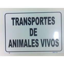 CARTEL ANIMALES VIVOS